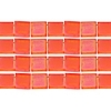 Miyuki Tila Beads 5X5mm 2 Hole Coral Opaque Matte Aurora Borealis